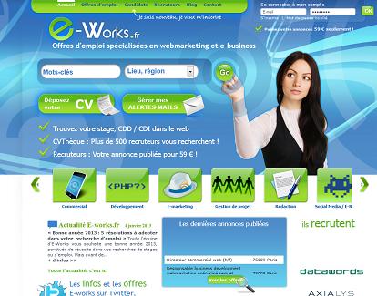 emploi eworks