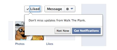 notification page fan