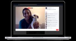 Visuel Facebook Live sur Mac
